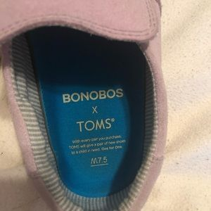 Bonobos Toms size men's 7.5 /women's 9